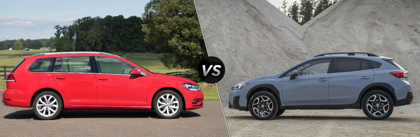 2018 Volkswagen Golf SportWagen vs 2018 Subaru Crosstrek