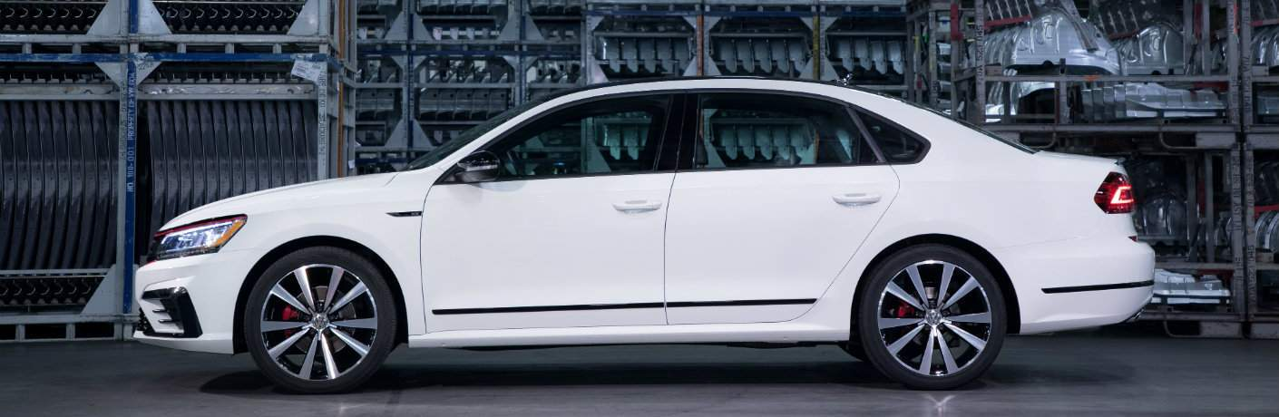 2018 Volkswagen Passat GT in a warehouse