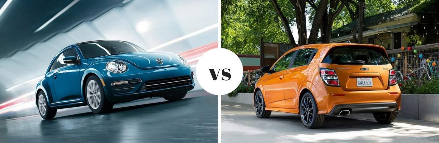 2018 Volkswagen Beetle vs 2018 Chevrolet Sonic