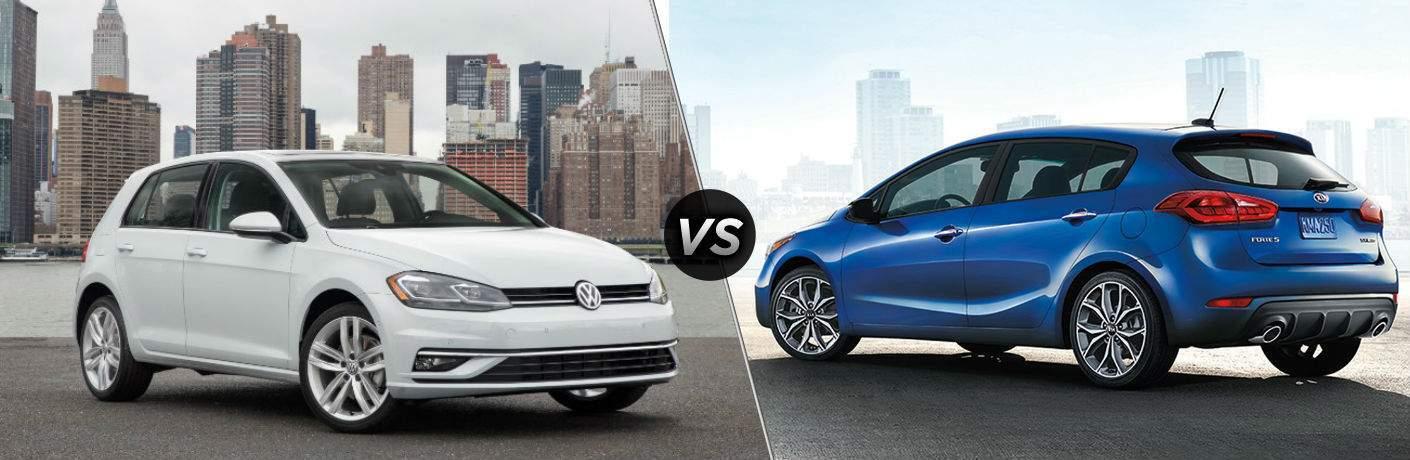 2018 Volkswagen Golf vs 2018 Kia Forte5