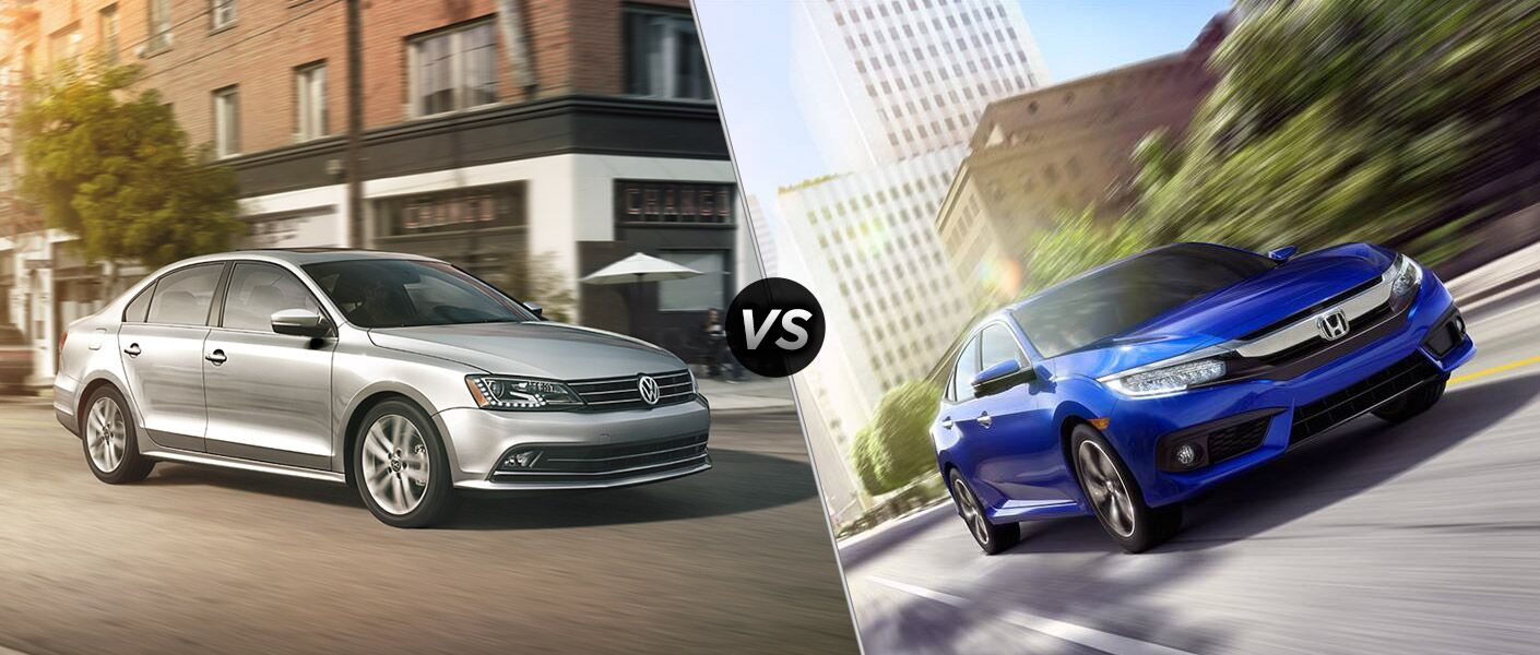 2016 Volkswagen Jetta vs 2016 Honda Civic Sedan