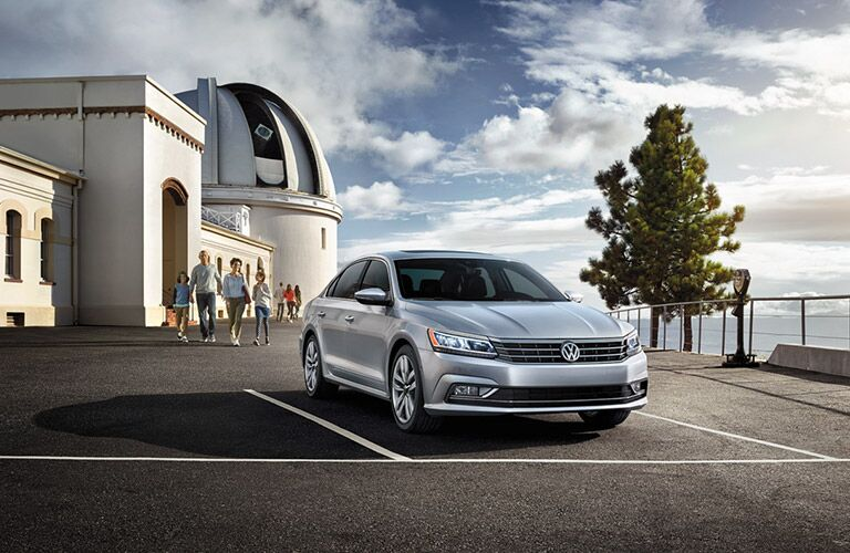 new front grille design on the 2016 vw passat