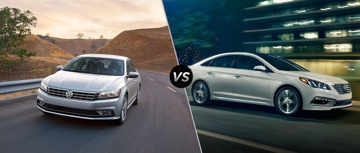 2016 Volkswagen Passat vs 2016 Hyundai Sonata