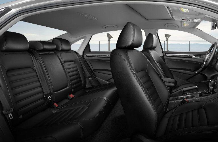 2016 vw passat rear seat legroom space