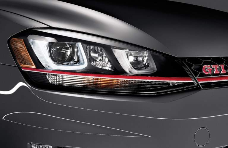 2017 VW Golf GTI headlight