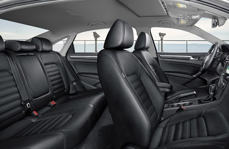 2018 VW Passat Side View of Interior
