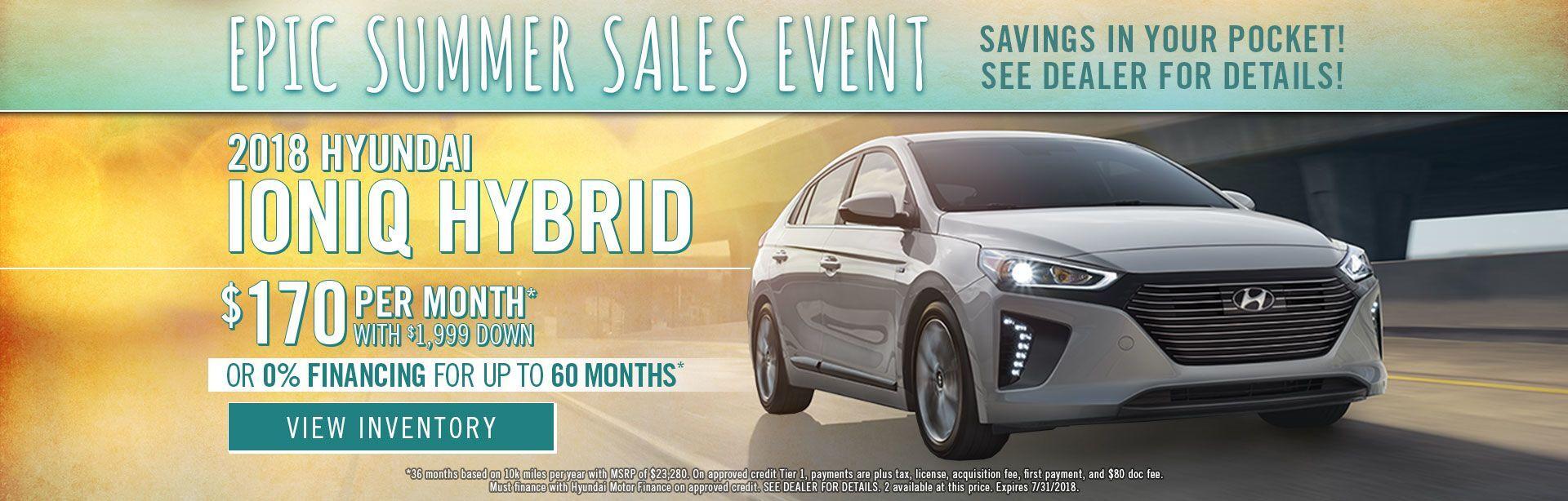 Hyundai Ioniq Specials