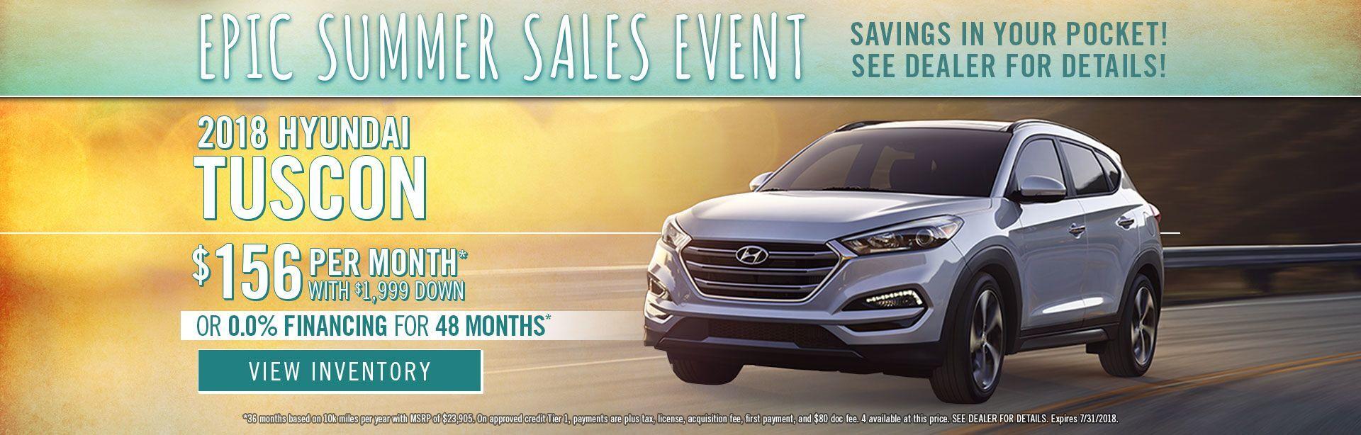 Hyundai Tucson Specials