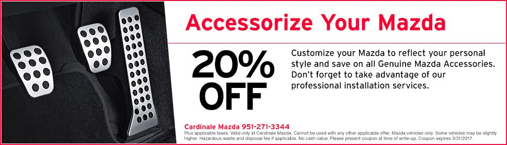 Mazda service coupons