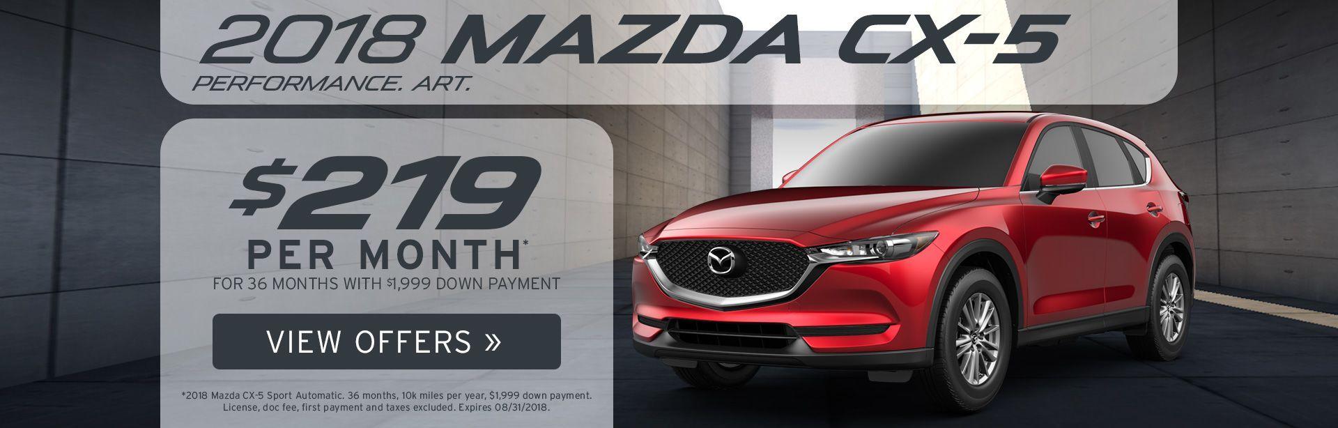 Mazda CX-5 Specials