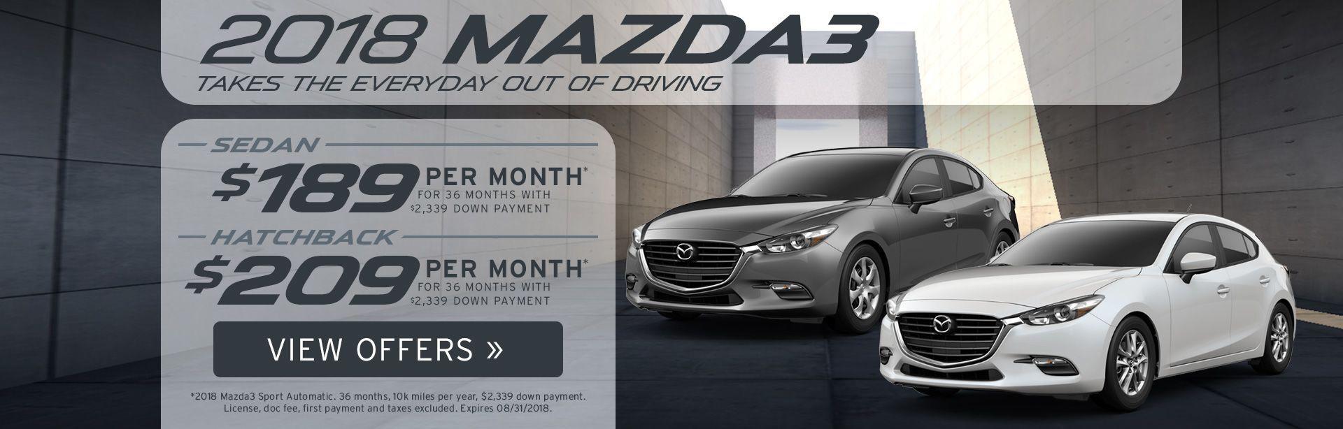Mazda3 Specials