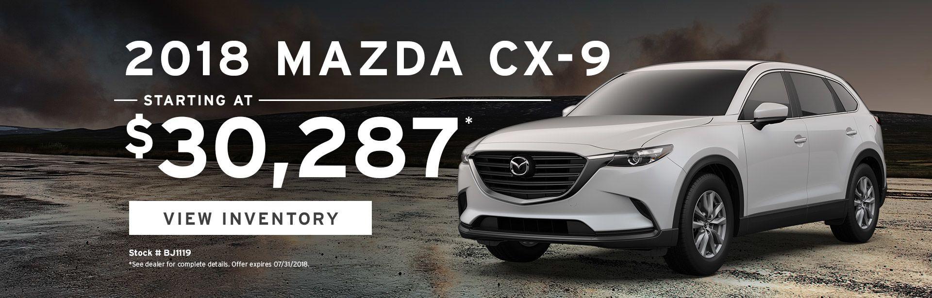 Mazda CX-9 Specials