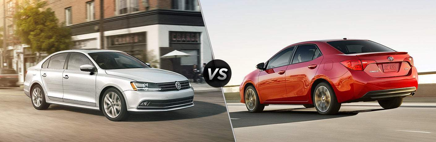 2017 Volkswagen Jetta Vs Toyota Corolla Review From Your Seaside Area Dealers