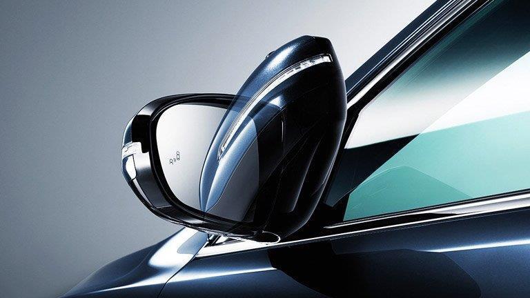 2016 Kia Cadenza folding side mirror_o