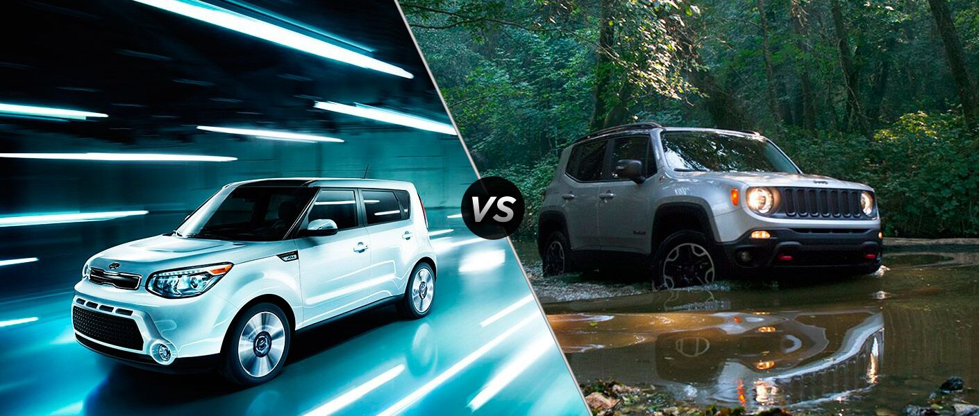 2016 Kia Soul vs 2016 Jeep Renegade