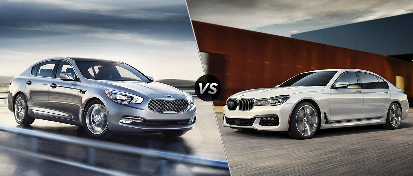 2016 Kia K900 vs 2016 BMW 7-Series