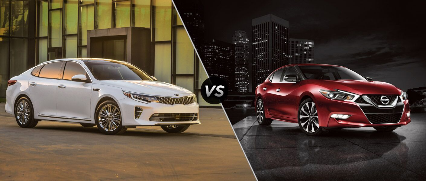 2016 Kia Optima vs 2016 Nissan Maxima