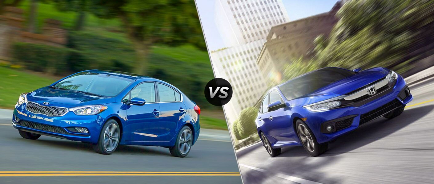 2016 Kia Forte vs 2016 Honda Civic