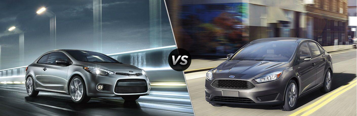 2016 Kia Forte vs 2016 Ford Focus