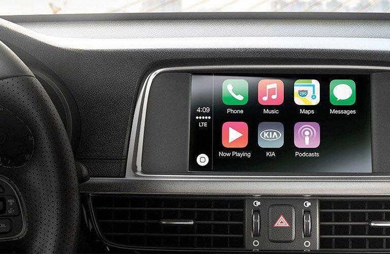 2017 Kia Optima with Apple CarPlay
