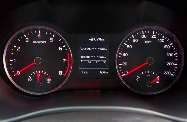 2017 Kia Rio gauge cluster