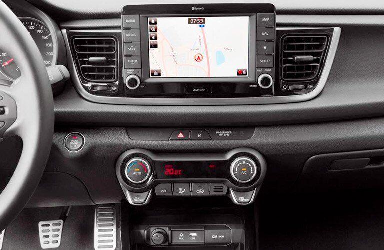 2017 Kia Rio infotainment system