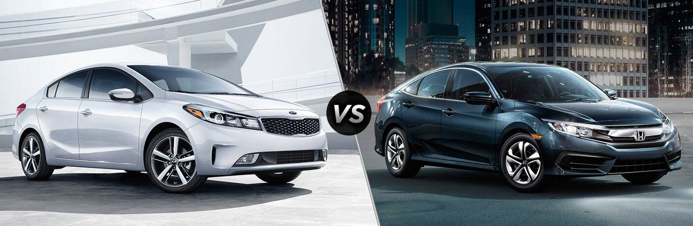 2017 Kia Forte vs 2017 Honda Civic Sedan