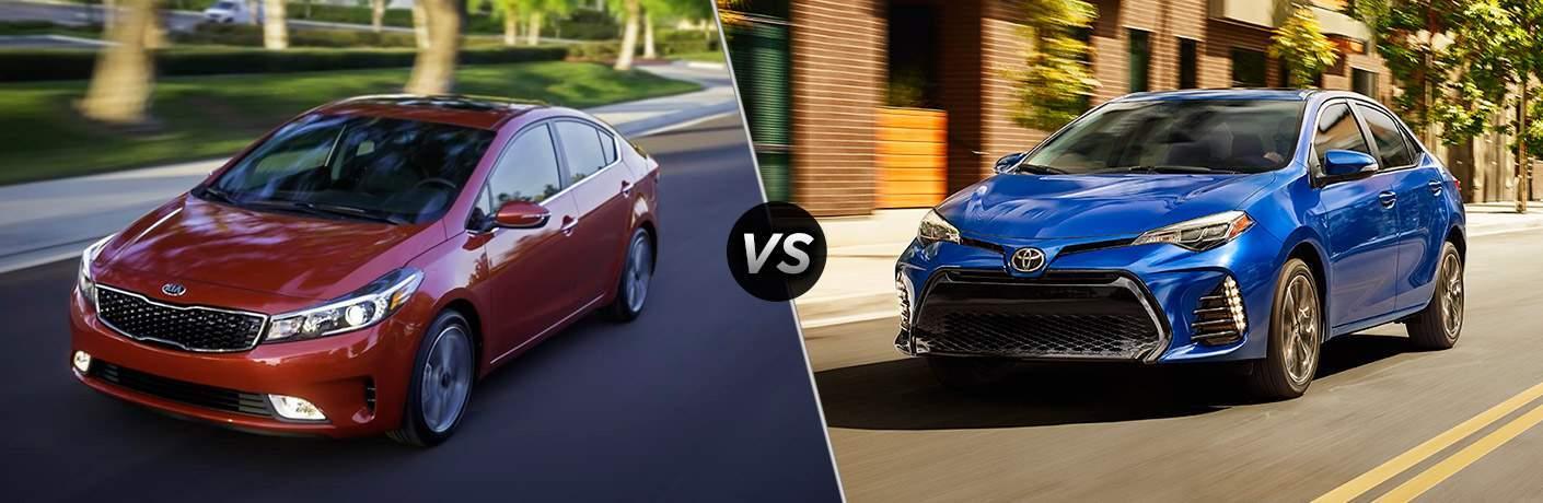 2017 Kia Forte vs 2017 Toyota Corolla