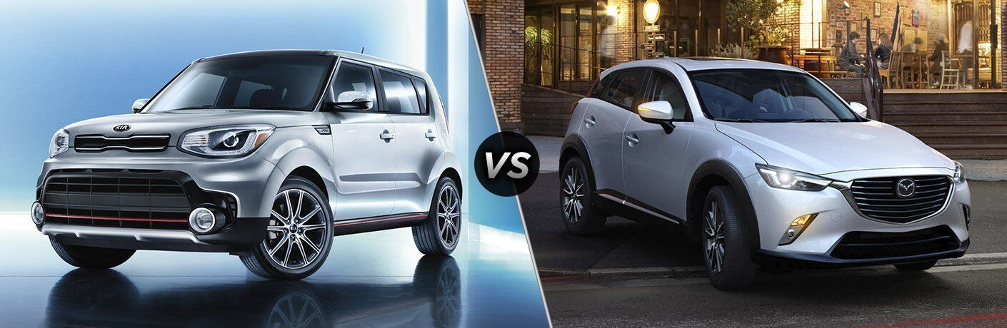 2017 Kia Soul vs 2017 Mazda CX-3
