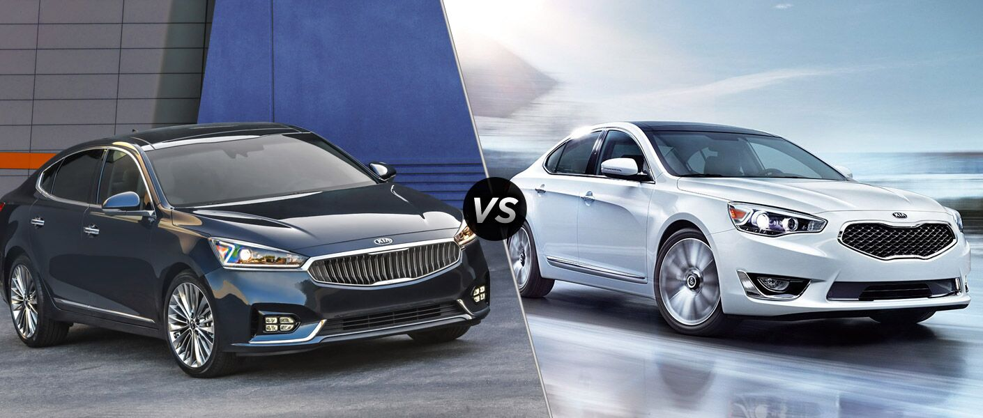 2017 Kia Cadenza vs 2016 Kia Cadenza Carolina Kia of High Point