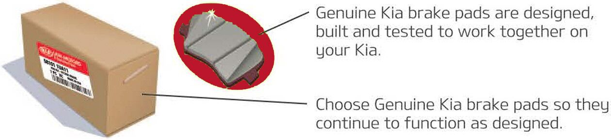 Genuine Kia Brake Pads
