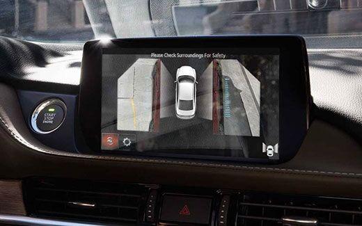 2018 Mazda6 View Monitor
