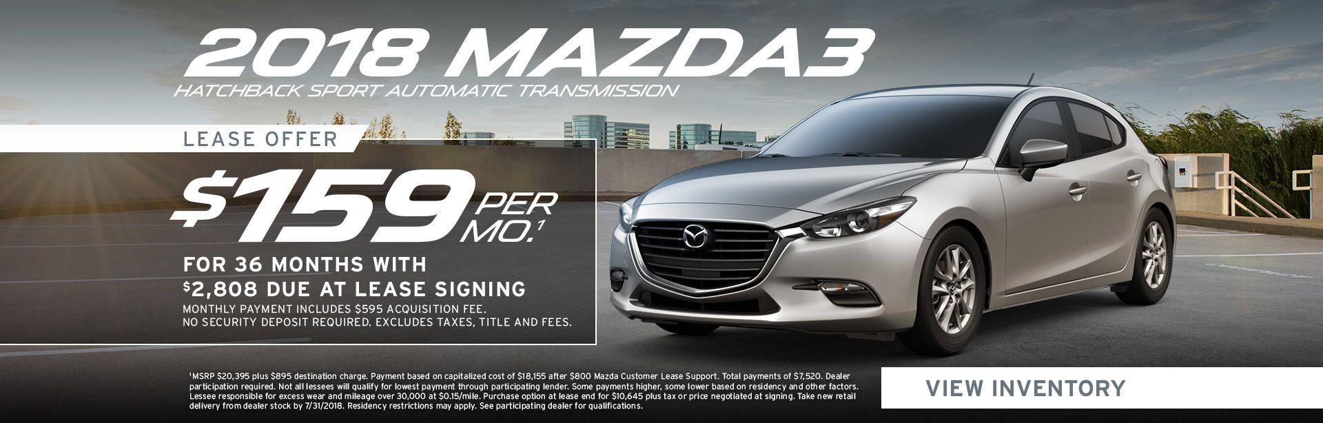 Mazda 3 Hatchback Specials