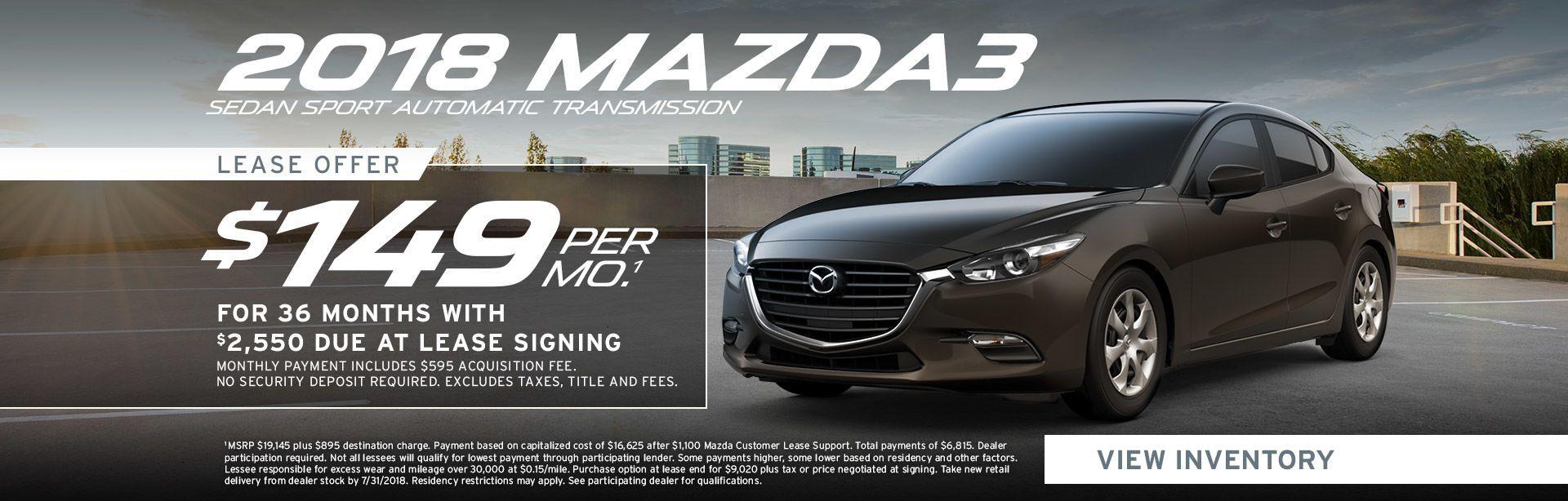 Mazda Mazda3 Specials