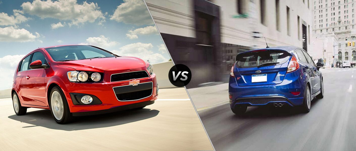 2016 Chevy Sonic vs 2016 Ford Fiesta Lexington KY