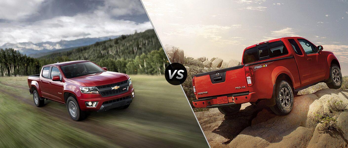 2016 Chevy Colorado vs 2016 Nissan Frontier
