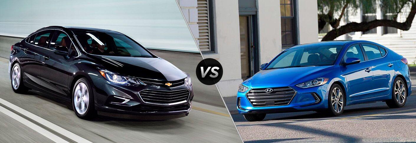 2017 Chevrolet Cruze vs 2017 Hyundai Elantra