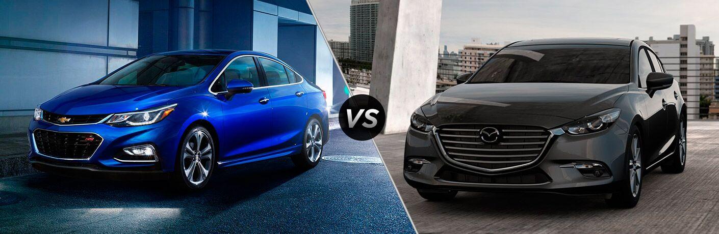 2017 Chevrolet Cruze vs 2017 Mazda3