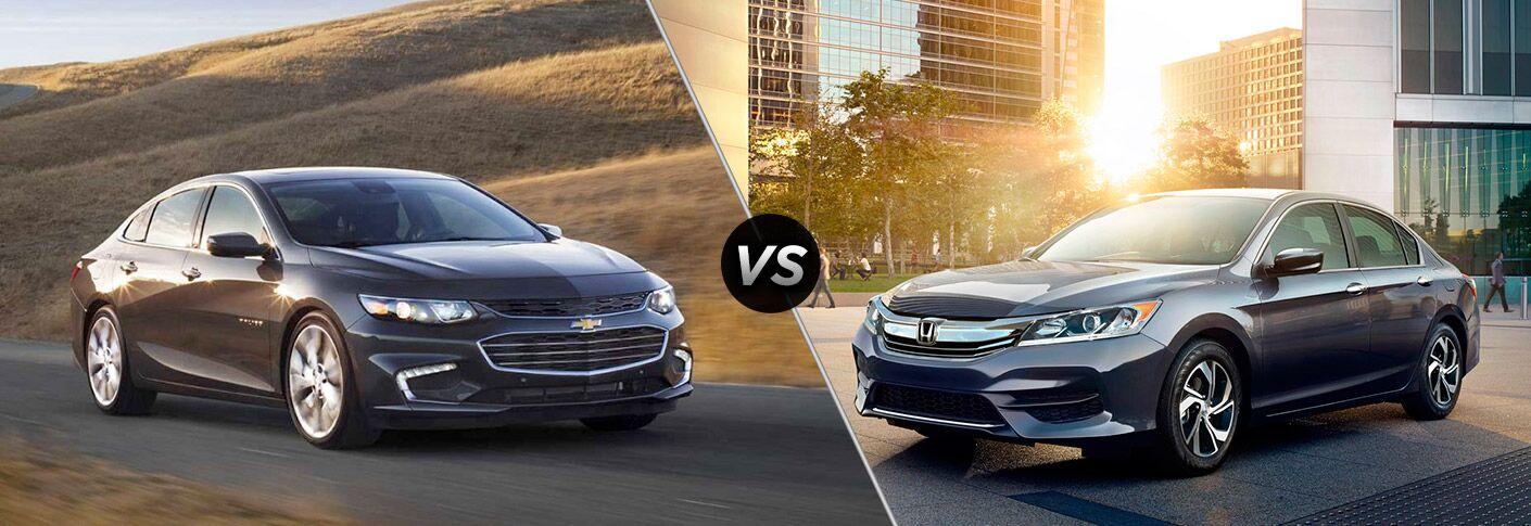 2017 Chevrolet Malibu vs 2017 Honda Accord