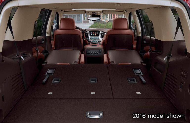 2017 Chevrolet Tahoe rear interior cargo space