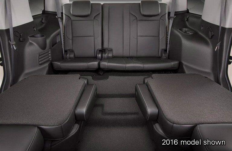 2017 Chevrolet Tahoe full interior cargo space