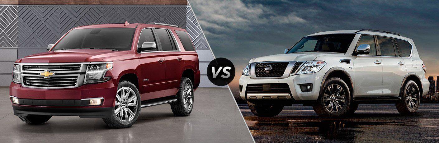 2017 Chevrolet Tahoe vs 2017 Nissan Armada