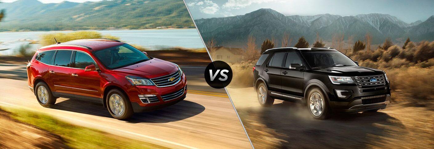 2017 Chevrolet Traverse vs 2017 Ford Explorer