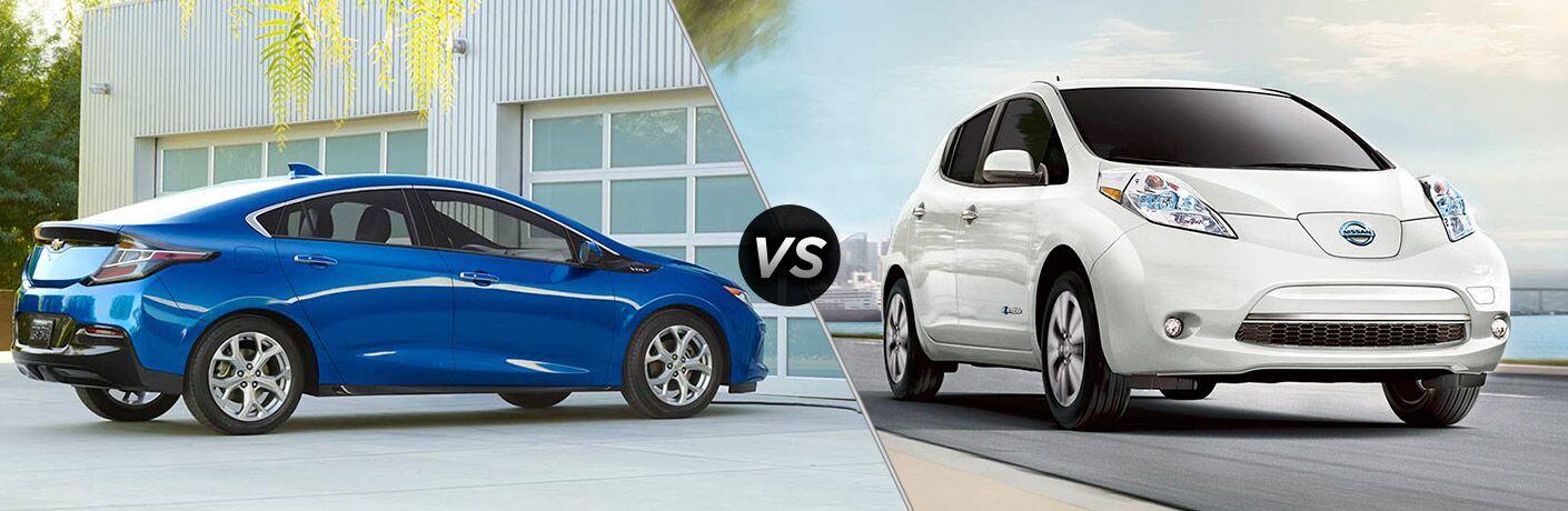 2017 Chevrolet Volt vs 2017 Nissan Leaf