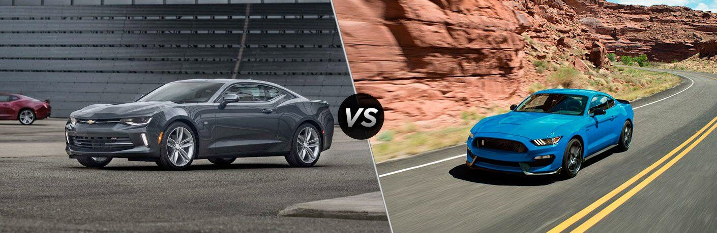 2017 Chevrolet Camaro vs 2017 Ford Mustang