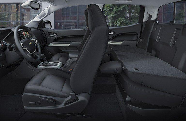 2017 Chevrolet Colorado full interior cargo space