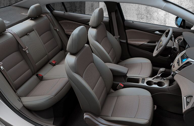 2017 Chevrolet Cruze interior passenger space