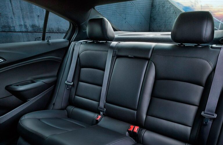 2017 Chevrolet Cruze rear interior passenger space