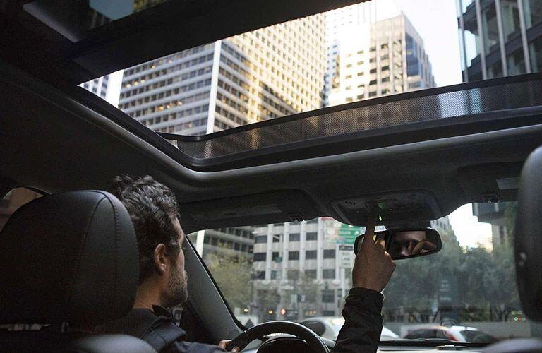 2017 Chevrolet Malibu front interior sunroof
