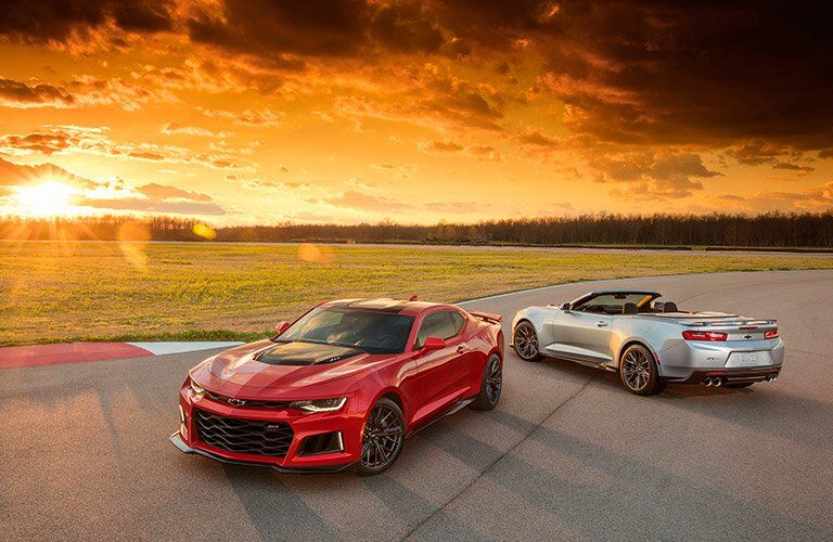 2017 Chevrolet Camaro and Chevy Camaro Convertible full exterior